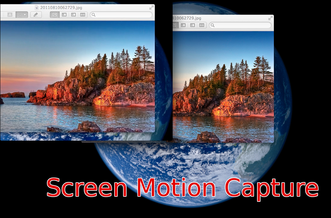 Screen Motion Capture Image